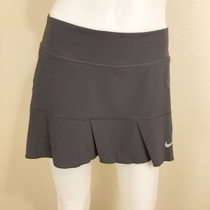Nike Athletic Skirt AttachedShorts Gray Sz M